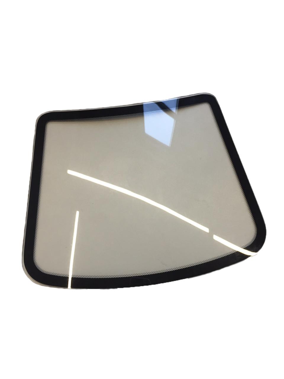 TM-283 Модель ветрового стекла - curved windshield glass, 31 x 24 cm