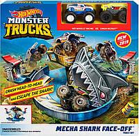 Трек Хот Вилс Опасное противостояние Hot wheels Monster trucks mattel