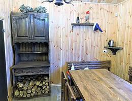 Деревянная мебель для сауны, бани в Киеве фото