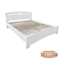 Кровать деревянная Верона (ДУБ щит) от производителя. Кровати из дерева. Кровать для спальни из дерева.
