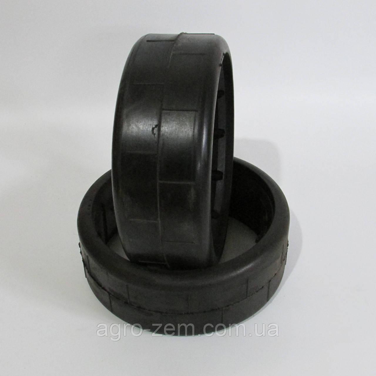 Бандаж КРН 300х100 тонкий (профиль: квадрат) шина прикатывающего колеса КРН