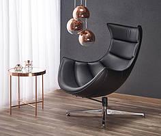 Крісло LUXOR чорний (Halmar)
