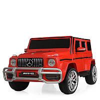 Детский электромобиль Mercedes G63 AMG, джип М 4259EBLR-3, красный