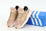 Жіночі кросівки Adidas Nite Jogger Pink осінь весна демісезонні. Живе фото. репліка, фото 4