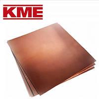 Мідь покрівельна KME 0,60 х 1000 х 2000 мм лист