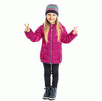 Стеганная демисезонная куртка для девочки Nano F17M1250 Bright Beetroot