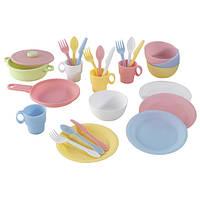 Игровой набор посуды (27 предметов) KidKraft 63027