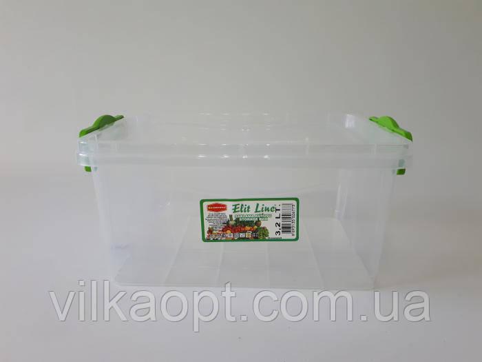 Судок пластиковый Senyayla 24*17 cm, h 12 cm. (3,2 л.)