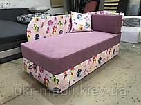 Детский раскладной диван кушетка с нишей для белья Нильс