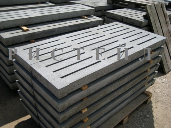Бетонні щілинні підлоги 2000х500х100