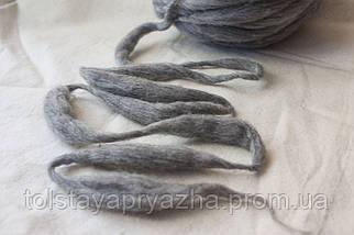 Пряжа Дуо (серый меланж), фото 2