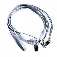 Шнурок для беджей D002 A серый, уп/50