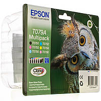 КАРТРИДЖ EPSON MULTIPACK (Bk,C,M,Y,LC,LM) (C13T079A4A10), фото 1