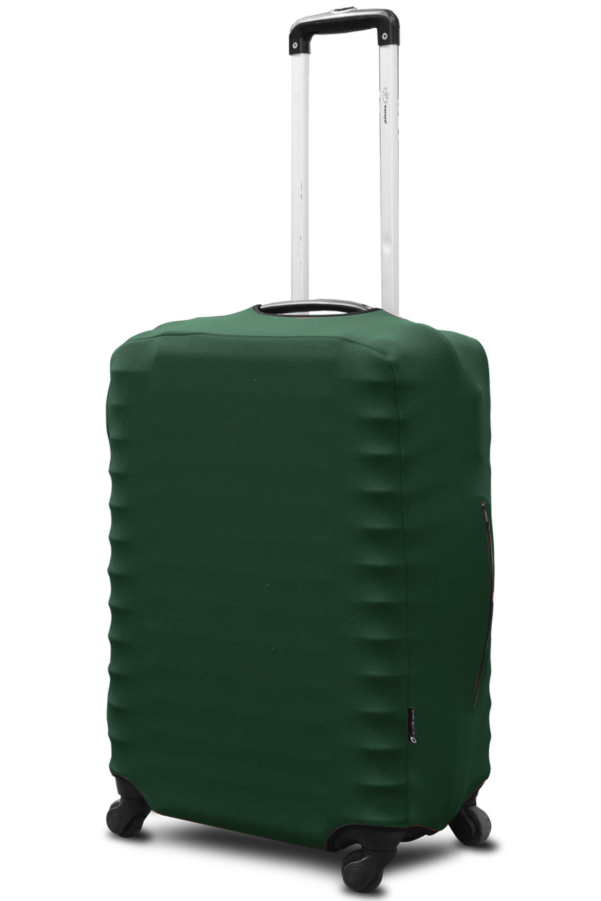 Чехол для чемодана Coverbag неопрен  Lтемно-зеленый
