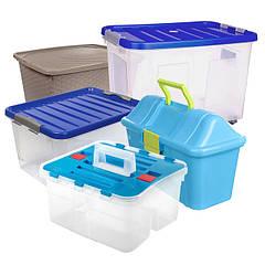 Ящики пластиковые для хранения