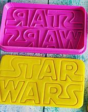Формочка-вырубка для пряника + штамп Star Wars