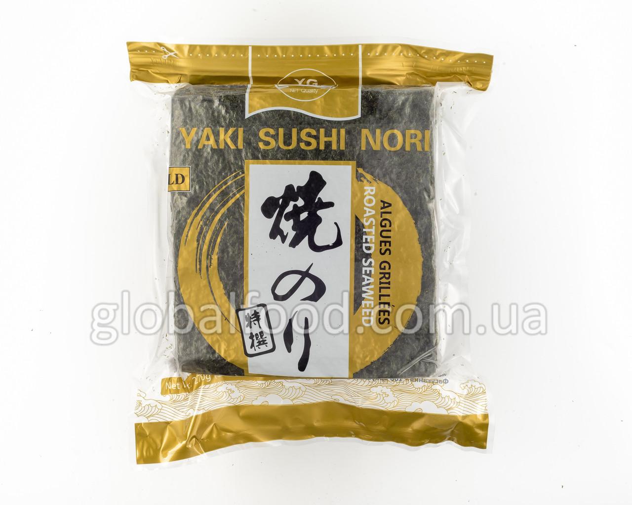 Водоросли Нори Yamato Gold (100 листов)
