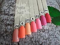 Гель лак Profit nail 10 мл № 4