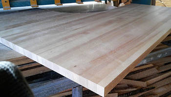 Деревянные столешницы из массива ясеня фото
