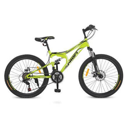 """Детский спортивный велосипед Profi 24"""" G24DAMPER S24.4 стальная рама 15"""", фото 2"""