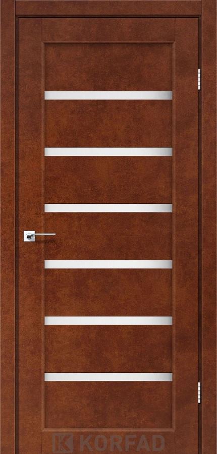 Двери Korfad PR-01 Сталь кортен