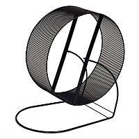 Металлический барабан для грызунов Шиншилла черный d 23 см