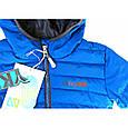 Стеганная демисезонная куртка для мальчика Nano F18M1251 Blue Jay, фото 2