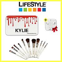 Набор кистей для макияжа KYLIE 12 штук