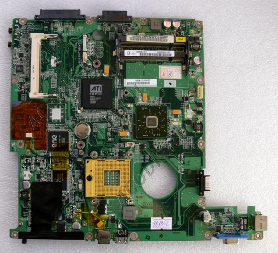 Материнська плата Toshiba L30-134 DAOBL3MB6F0 Rev.:F Ati x450