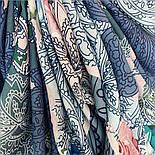 10438-13, павлопосадский платок из вискозы с подрубкой 80х80, фото 8