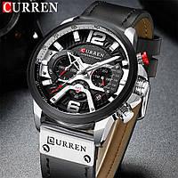 Часы Curren Premial wach Black-Silver с титановым корпусом 100% Оригинал!