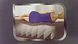 Надувная велюр кровать 64418, встр эл насос 220В, 203-152-56 см, оригинал, фото 4