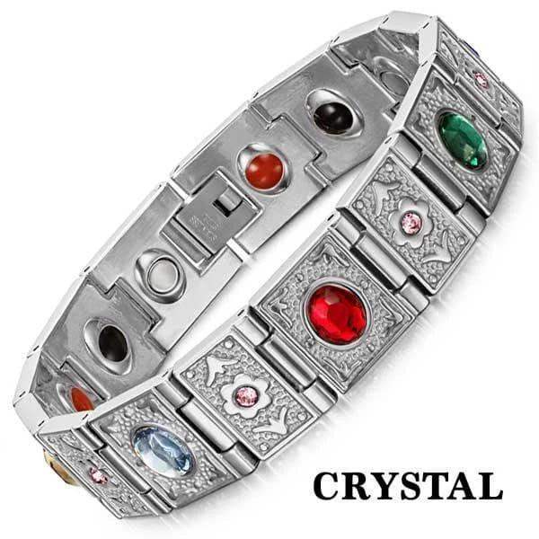 Магнитный браслет Кристал