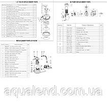 Песочный фильтр для бассейна Emaux FSP390-SD75 (8 м3/ч, D400), фото 3