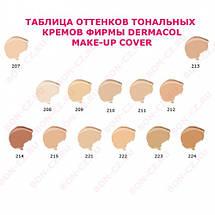 Тональный крем DERMACOL Make-Up Cover, 218 Оригинал Чехия, фото 2