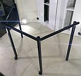 Каркас металевий для столу трапеції мобільного, фото 2