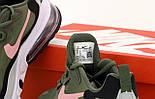 Мужские кроссовки Nike Air Max 270 React Haki. Живое фото. Топ реплика, фото 5