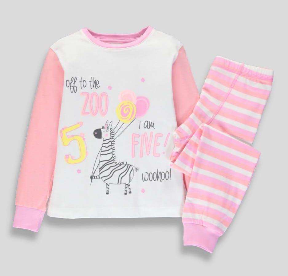 Трикотажная пижама для девочки 4-5 лет Matalan Англия Размер 110