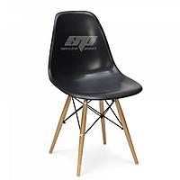 Стул, пластиковый стул, стулья для кафе, обеденный стул, стулья домой Тауэр Вуд (Nik Eames), цвет черный