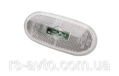 Фонарь боковой (габарит) MB Sprinter/VW Crafter 09- (белый) LED