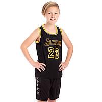 Форма баскетбольная подростковая NB-Sport NBA LAKERS 23 BA-0928