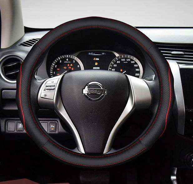 Чехол оплетка на руль кожаная для автомобиля натуральная кожа