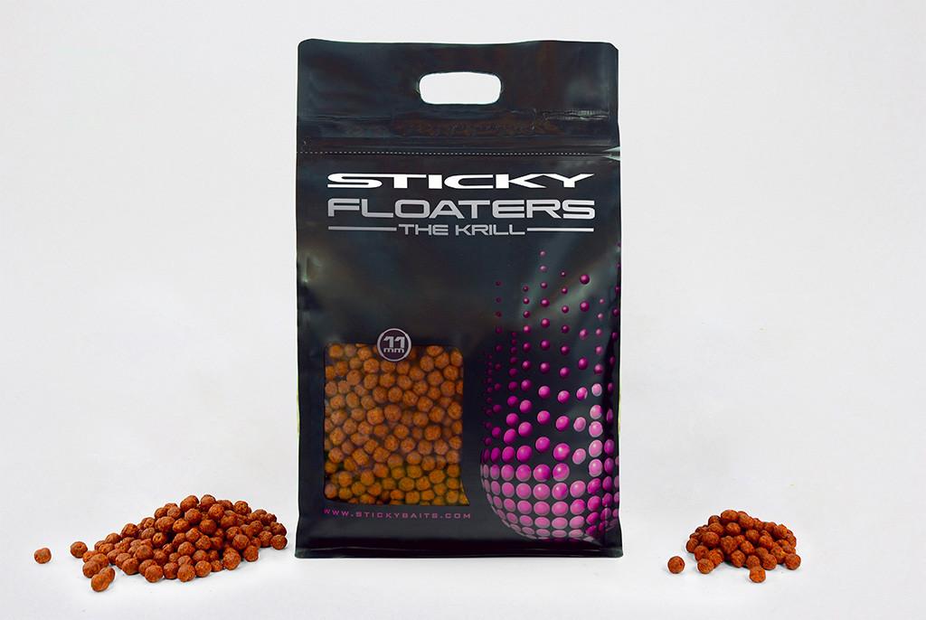 Гранулы Floaters - The Krill 6мм 3кг