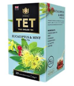 Чай пакетированный Тет Eucalyptus & Mint 20 шт, фото 2