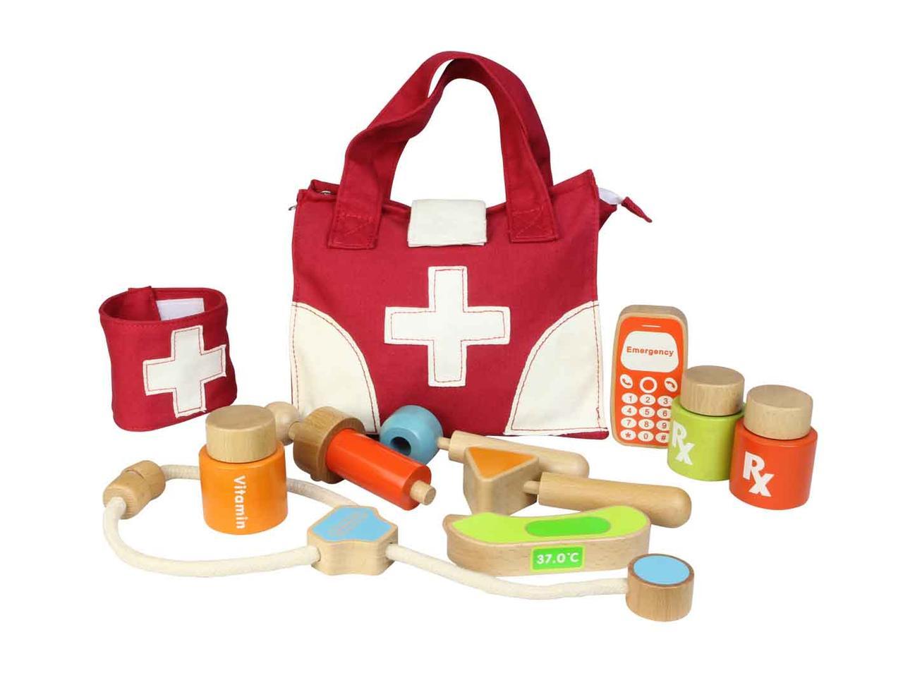 """Игровой набор """"Маленький доктор"""" + сумка от Masterkidz MK01009"""