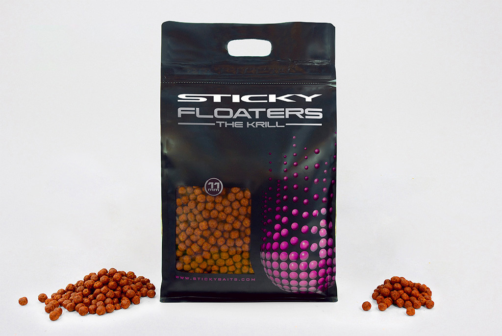 Гранули Floaters - The Krill 11мм 3 кг