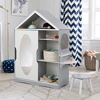 Детский шкаф-купе KidKraft 13040 с туалетным столиком