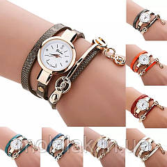 Женские часы Mnycxen с кожаным ремешком