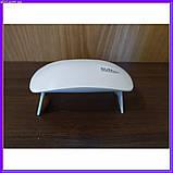 УФ лампа для сушки гель-лака UV LED SUN mini, фото 4