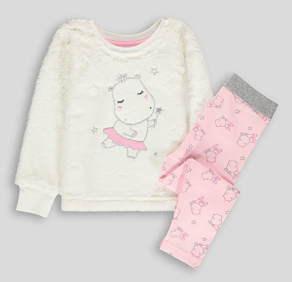 Плюшевая пижама для девочки 4-5 лет Matalan Англия Размер 104-110